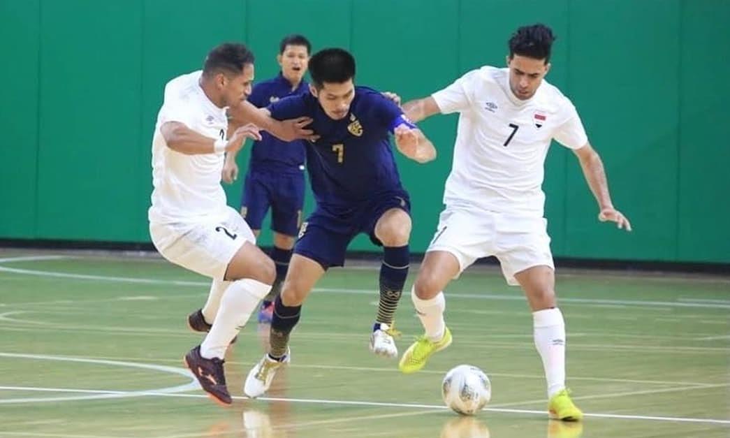 Thailand penuh peluang menghadiri Piala Dunia futsal untuk kelima kalinya.  Foto: AFC