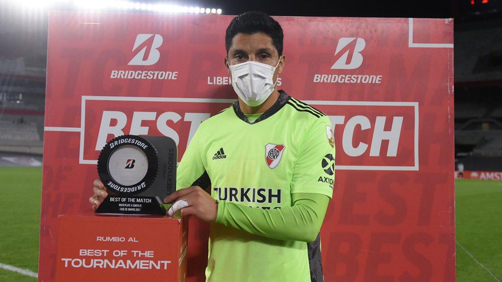 เปเรซได้รับรางวัลผู้เล่นยอดเยี่ยมแห่งการแข่งขัน  ภาพ: