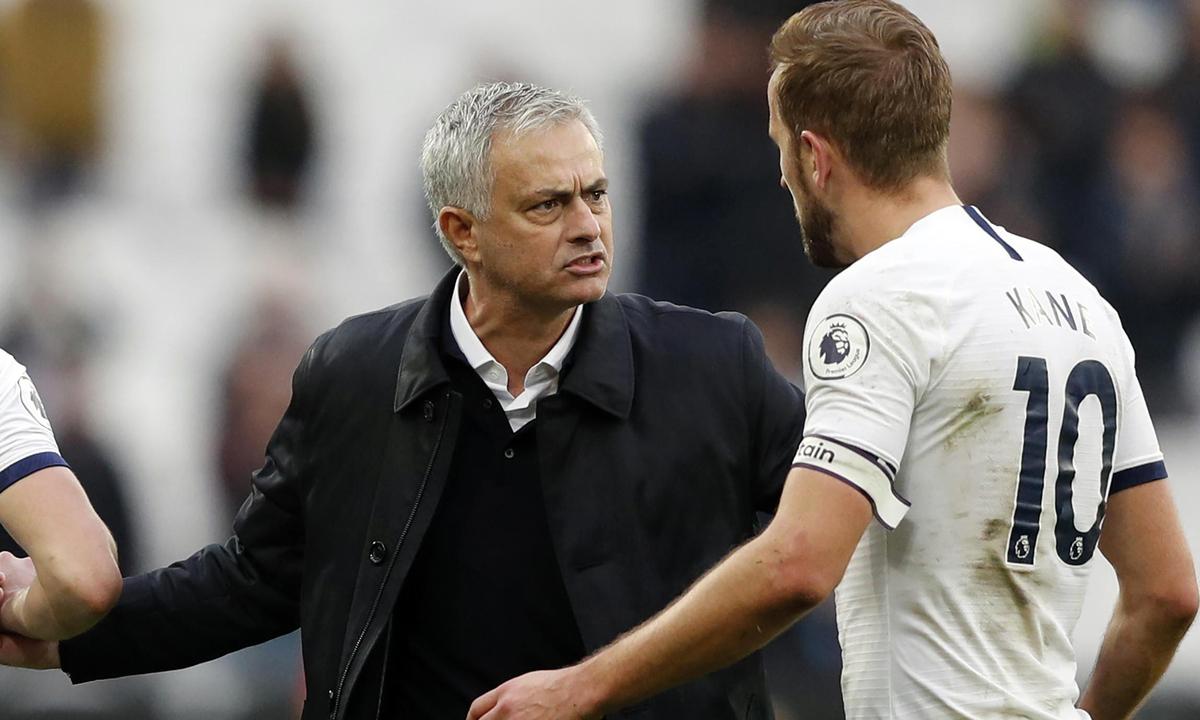 Kane mengakui dia cocok dengan gaya kerja dan filosofi Mourinho.  Foto: PA