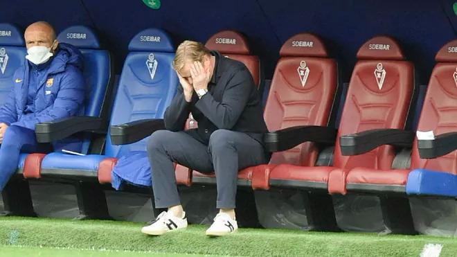 โค้ชโคแมนในเกมสุดท้ายของฤดูกาล  ภาพ: Marca