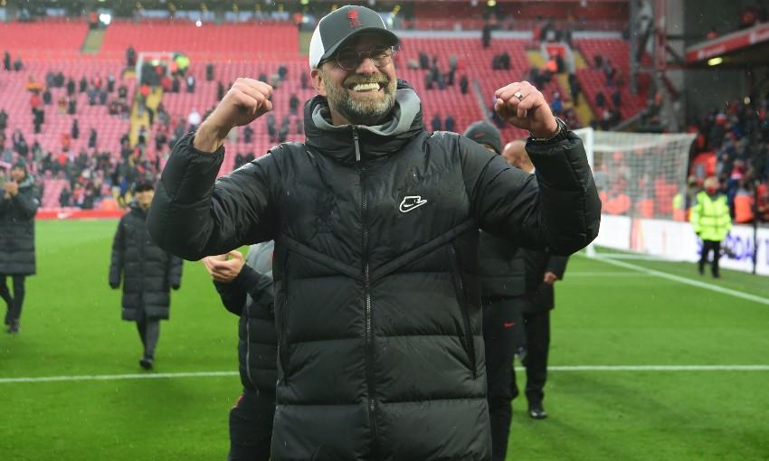 Guru dan siswa Klopp menang 20 kali, imbang sembilan kali, dan kalah sembilan pertandingan Liga Premier 2020-2021.  Foto: Langit.