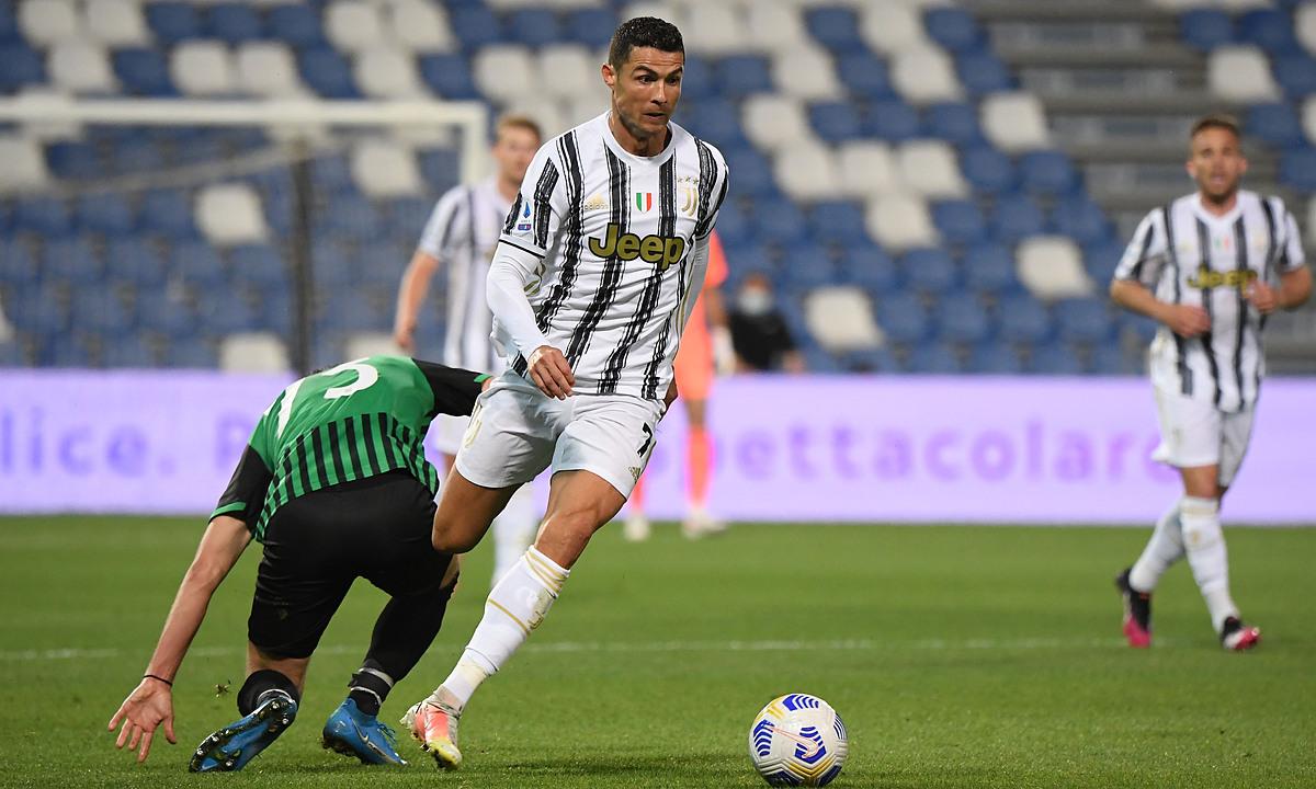 Ronaldo đã ghi 81 bàn ở Serie A, sau 97 trận. Ảnh: Reuters