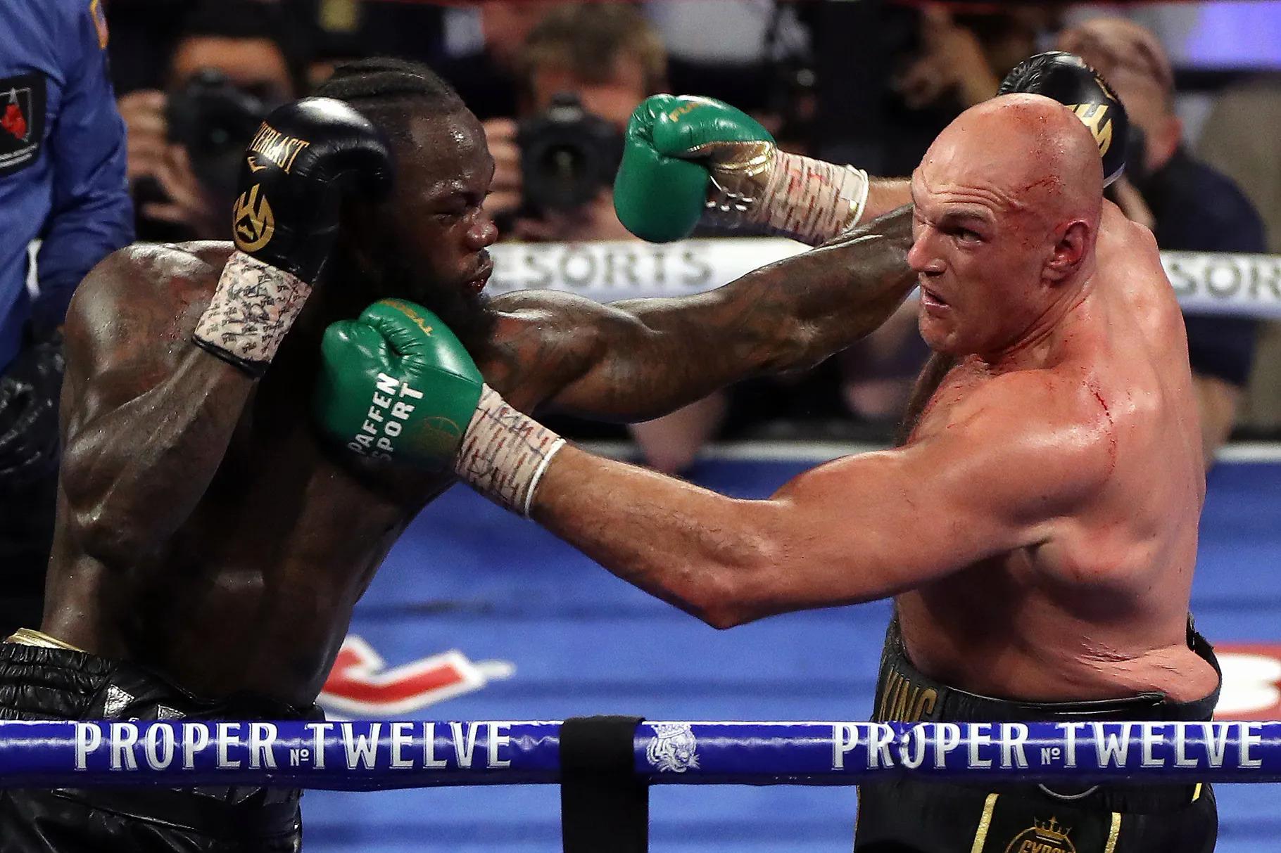 Fury bị buộc phải đấu với Wilder trận thứ ba theo giao kèo cũ. Ảnh: PA Images