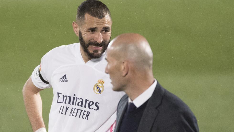 Benzema sempat tertekan usai mengalahkan Villarreal 2-1 di babak final La Liga pada 22 Mei.  Foto: Mundo Deportivo