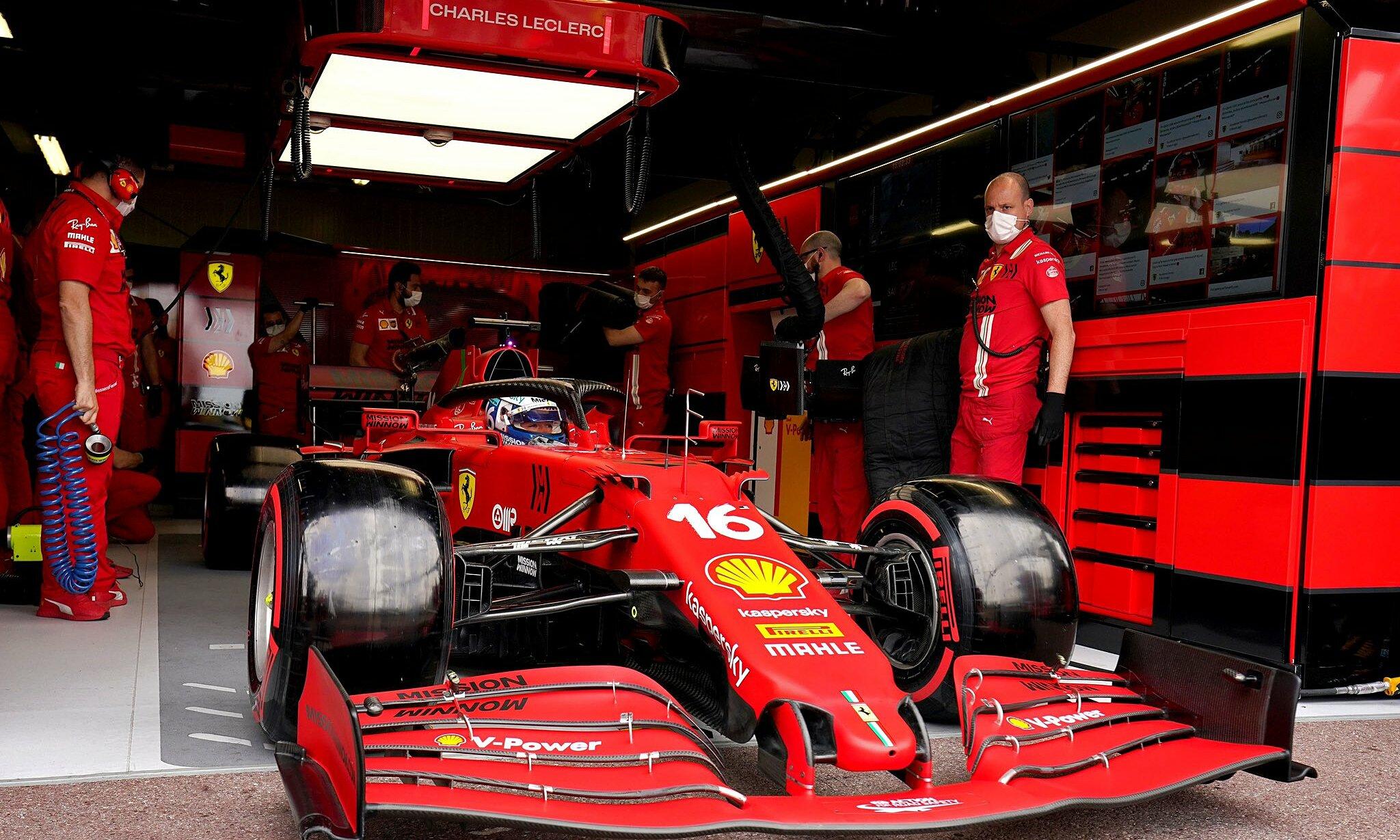 Leclerc harus menyerah hanya 30 menit sebelum balapan resmi Grand Prix Monaco dimulai.  Foto: Scuderia Ferrari