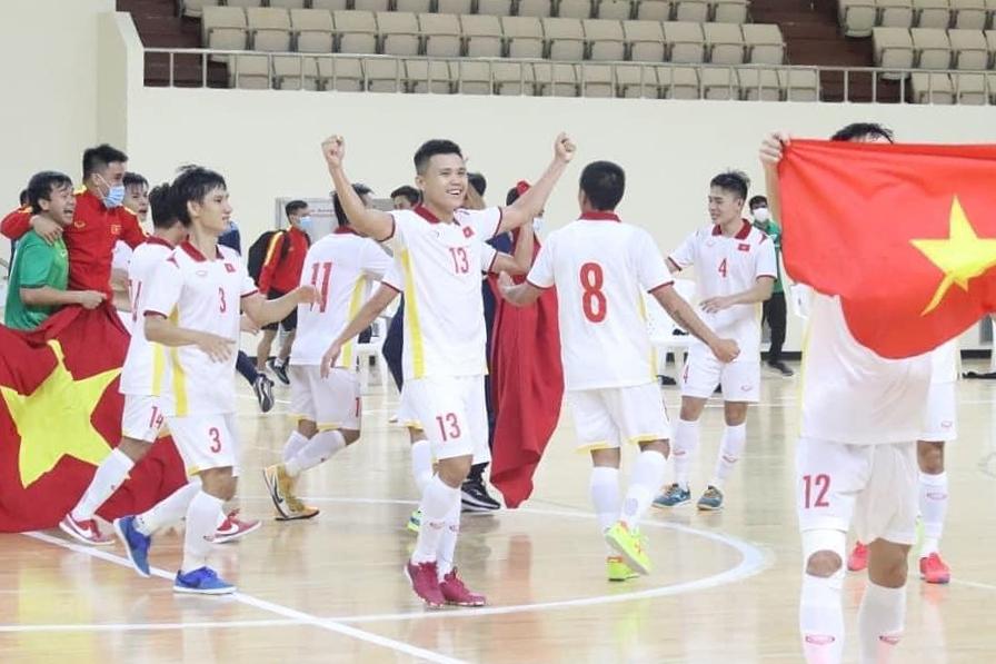 ฟุตซอลเวียดนามคว้าสิทธิ์เข้าร่วมการแข่งขันฟุตบอลโลกเป็นครั้งที่สองหลังจากครั้งแรกในปี 2559
