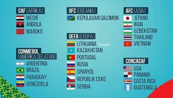 Daftar 24 tim yang berpartisipasi dalam Piala Dunia Futsal FIFA 2021 diharapkan pada September 2021 di Lithuania.
