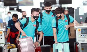 Đội tuyển Việt Nam lên đường đá vòng loại World Cup