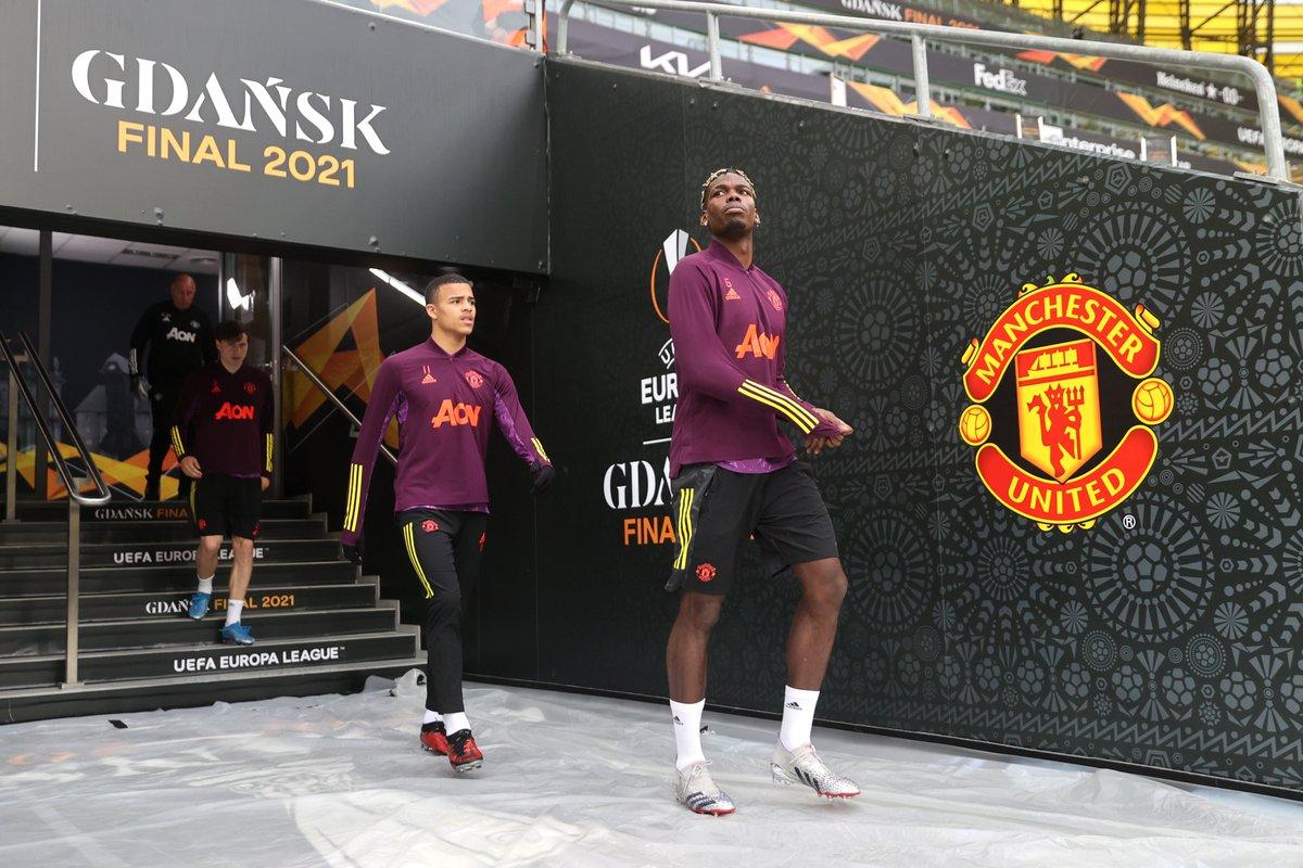 กรีนวูดและแมนฯ ยูไนเต็ดมีโอกาสครั้งใหญ่ที่จะคว้าแชมป์เมื่อพวกเขาเล่นยูโรป้าลีกรอบชิงชนะเลิศที่กดานสค์ประเทศโปแลนด์ในวันนี้  ภาพ: Twitter / Man Utd