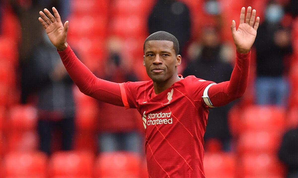 Wijnaldum adalah dewa Liverpool saat mereka menjuarai Liga Champions 2018-2019 dan Liga Utama Inggris 2019-2020.  Foto: Reuters.