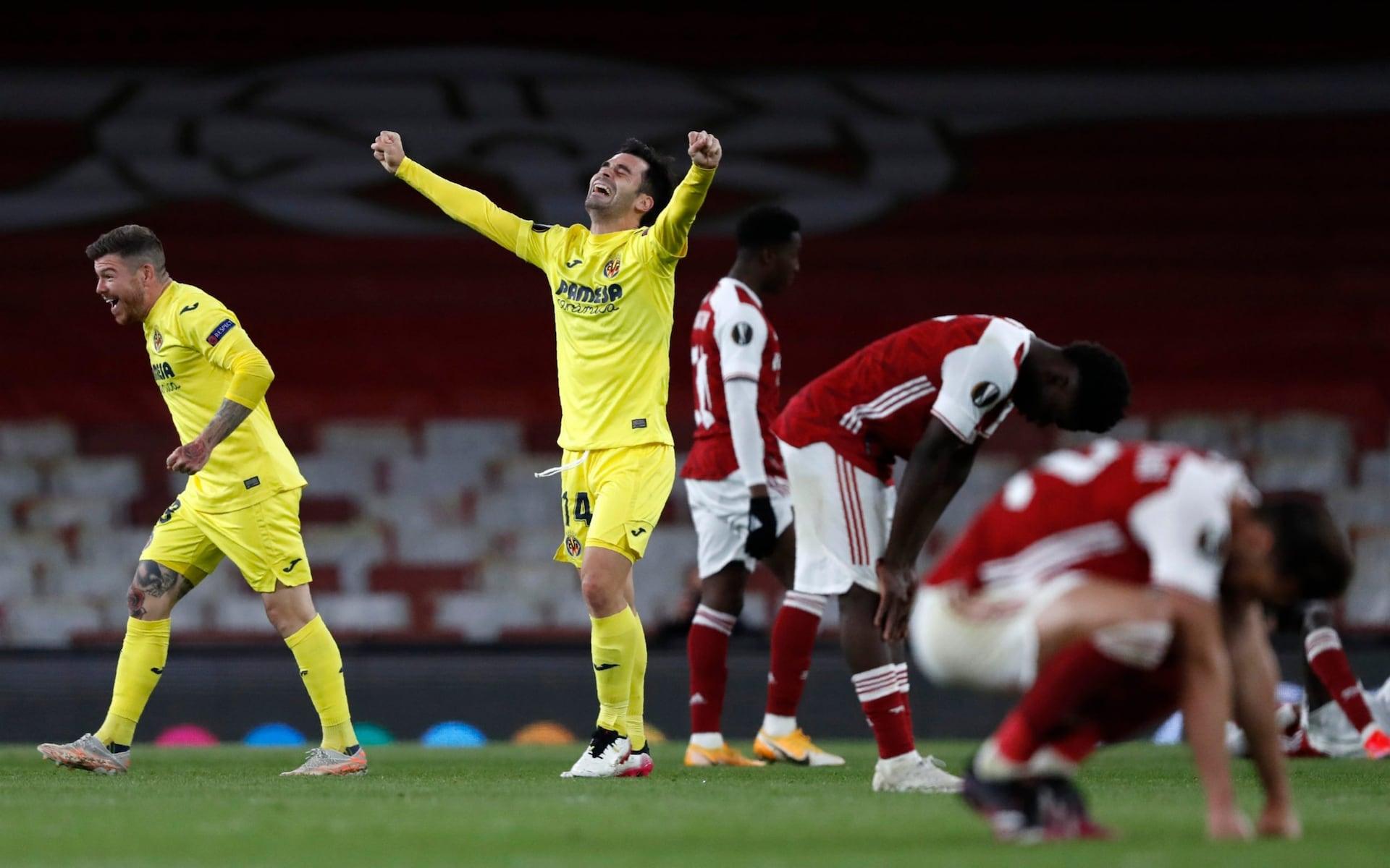 Emery berpikir Villarreal mengatasi ketidakadilan untuk mengalahkan Arsenal di semifinal, tetapi tidak beruntung.  Foto: AP