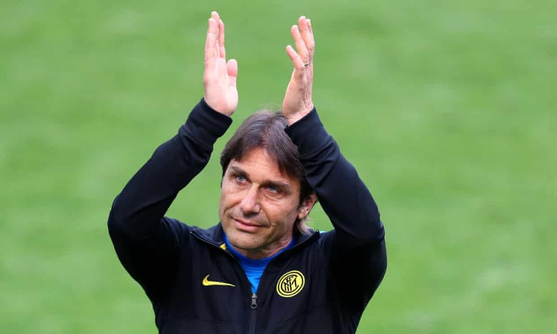 Conte dẫn dắt Inter 102 trận, thắng 64 trận, đạt tỷ lệ 62,75%. Ảnh: BPI