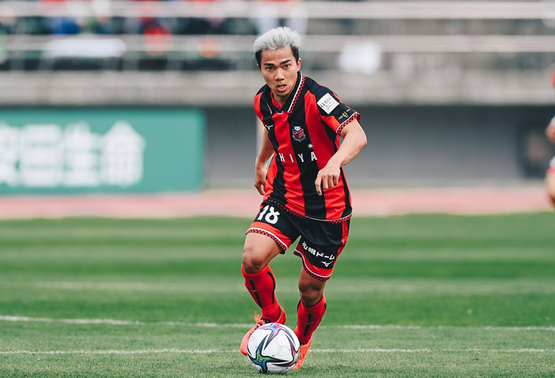 Chanathip telah mencetak satu gol dalam sembilan pertandingan di J-League musim ini, tetapi absen di empat pertandingan terakhir karena cedera.  Foto: INN