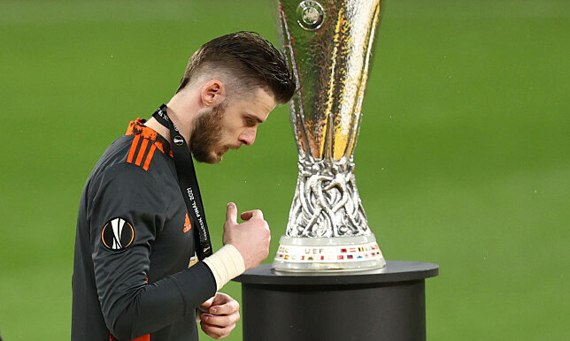 Lần gần nhất De Gea đẩy được phạt đền là ở bán kết Cup FA tháng 4/2016. Ảnh: Reuters