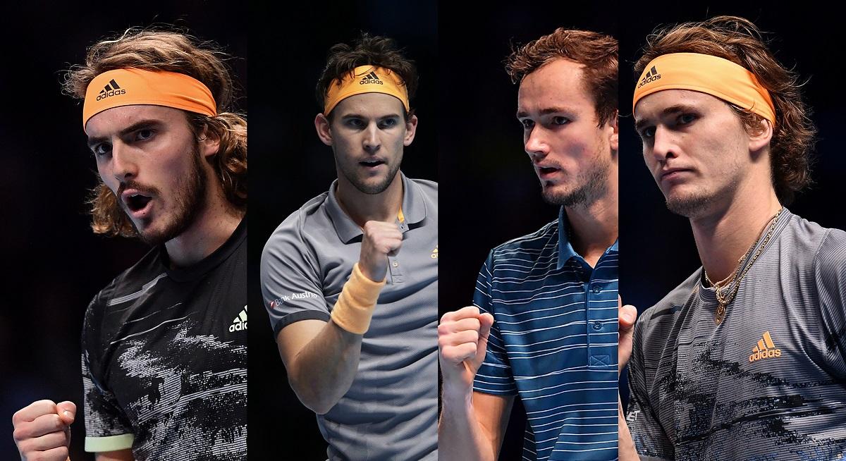Generasi berikutnya dengan Tsitsipas, Thiem, Medvedev dan Zverev adalah penyeimbang dari Big 3 di Roland Garros 2021. Foto: ATP.