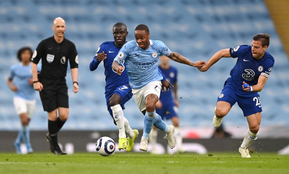 Chelsea baru saja menang 2-1 melawan Man City di Liga Utama Inggris pada 8 Mei.  Foto: Reuters.