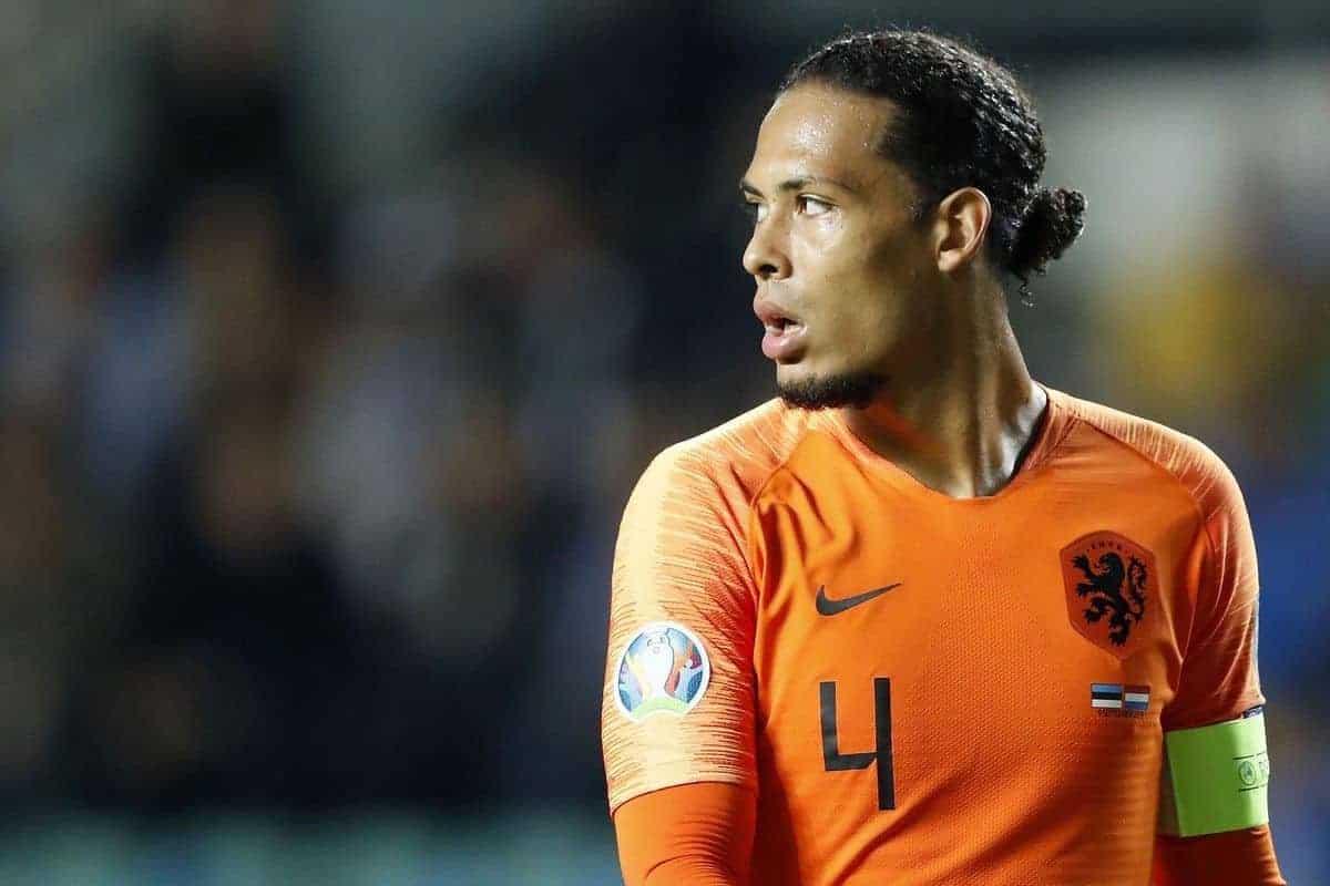 Van Dijk là một trong những cầu thủ Hà Lan chơi hay nhất trên hành trình vòng loại Euro. Ảnh: PA