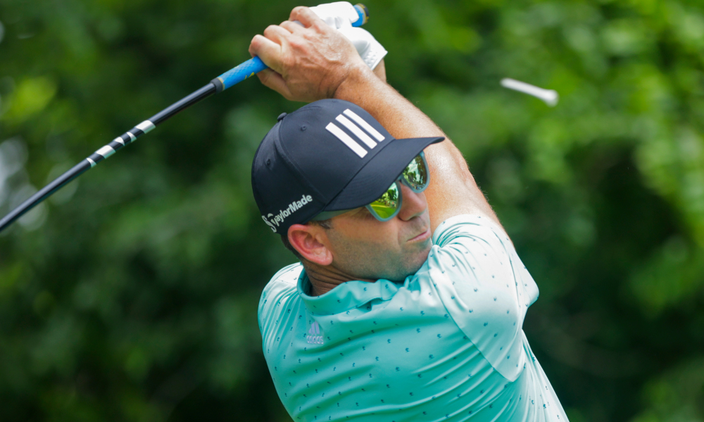 Impressive form helps Garcia lead the trophy team in this year's Charles Schwab Challenge.  Photo: USA Today