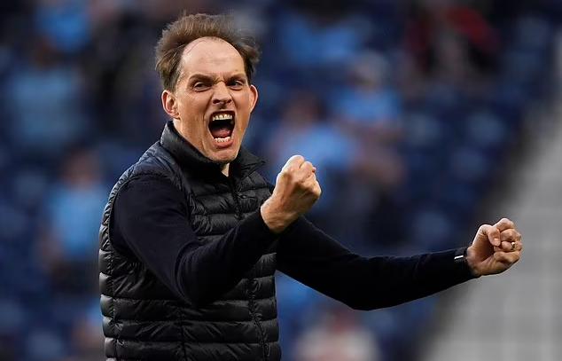 Tuchel vào chung kết lần thứ hai và giành Champions League đầu tiên trong sự nghiệp. Ảnh: Reuters.