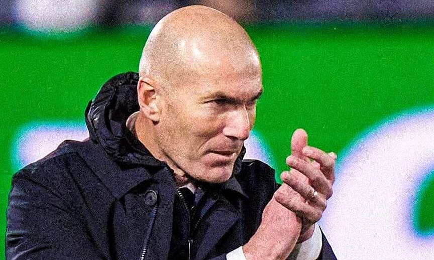 Zidane ingin kembali secepat mungkin untuk melanjutkan pekerjaan kepelatihannya.  Foto: EFE