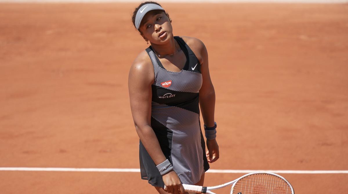 Thành tích tốt nhất của Osaka tại Roland Garros là vào vòng ba. Ảnh: WTA