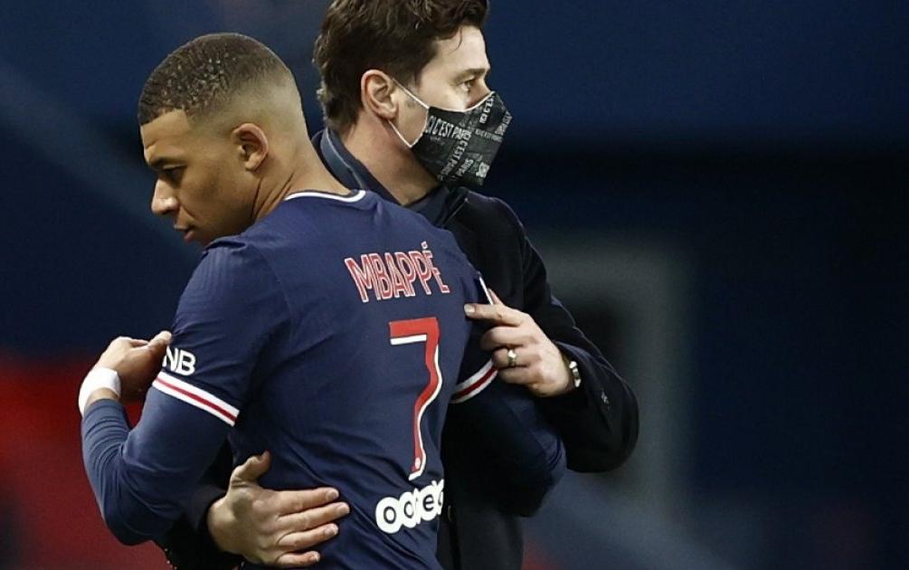Môi trường bóng đá Pháp không còn hấp dẫn Pochettino, ngay cả khi được làm việc với Mbappe và Neymar. Ảnh: Reuters.