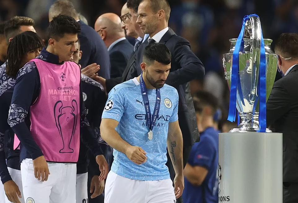 Man City thắng 11, hòa một và thua một trong 13 trận Champions League 2020-2021. Ảnh: Reuters.