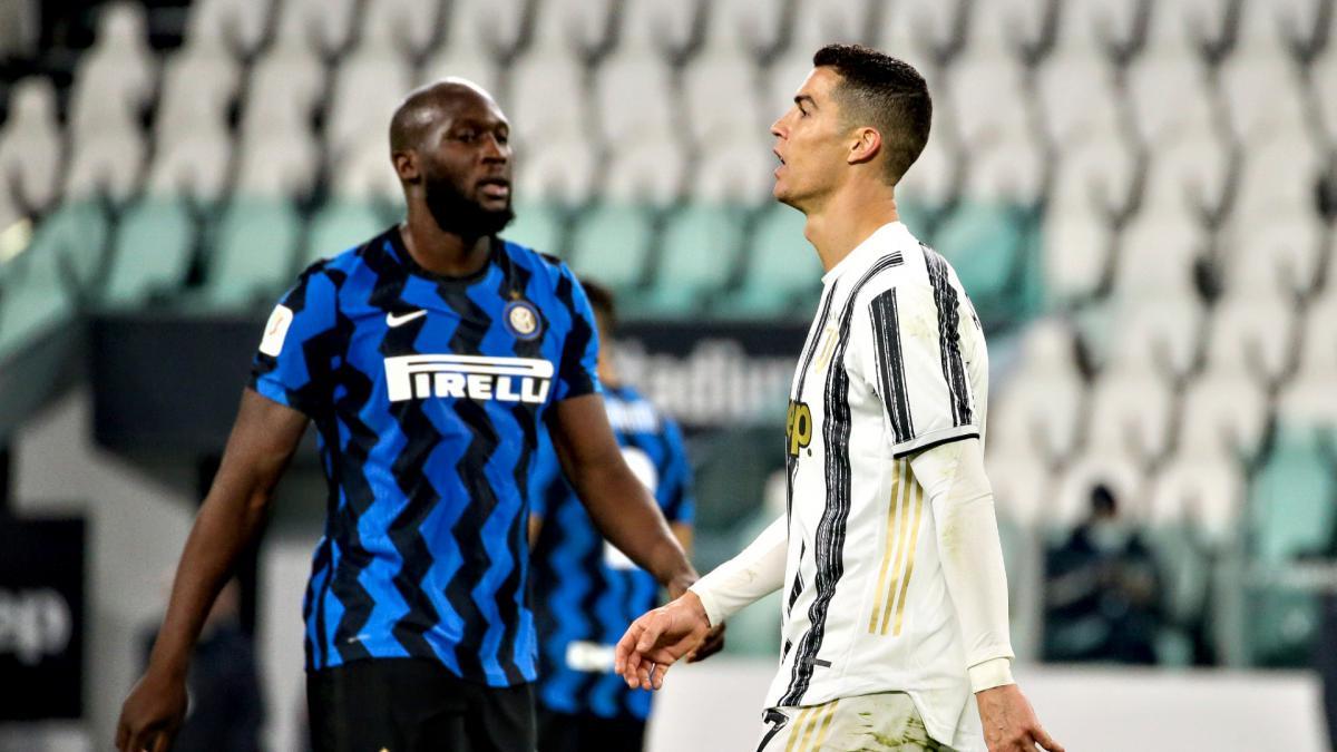 Ronaldo ghi bàn nhiều hơn, nhưng không được đánh giá cao bằng Lukaku trong đóng góp cho tập thể tại Serie A mùa này. Ảnh: AS