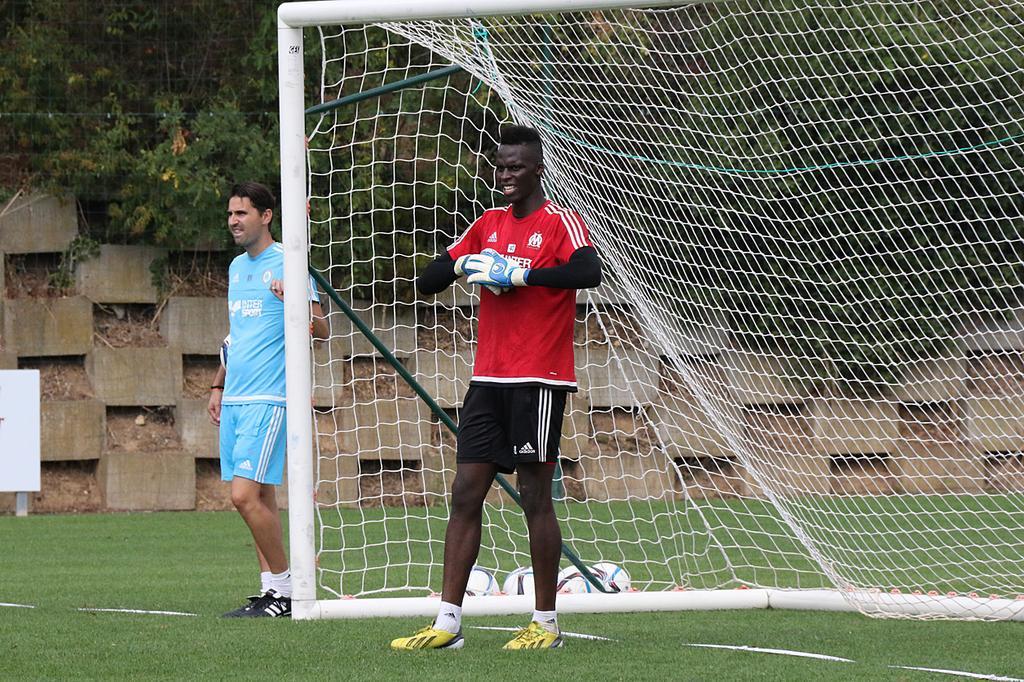 Bergabung dengan tim muda Marseille pada tahun 2015 adalah titik balik yang membantu Mendy mengubah karirnya.  Foto: Twitter / Mendy