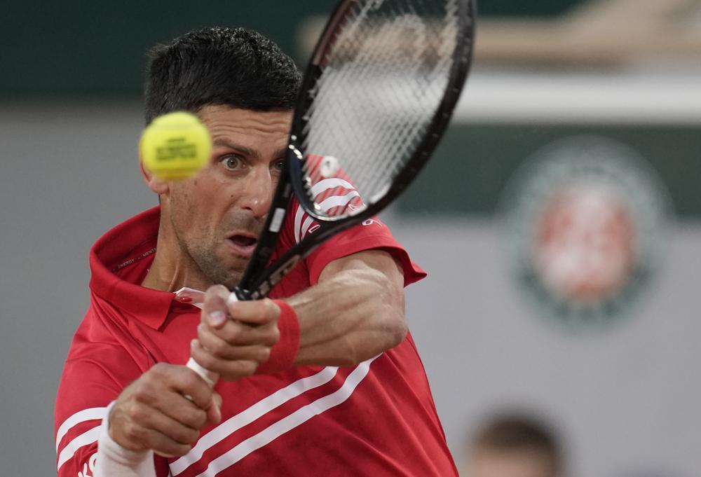 Djokovic toàn thắng trong bốn lần đối đầu với Sandgren. Ảnh: AP