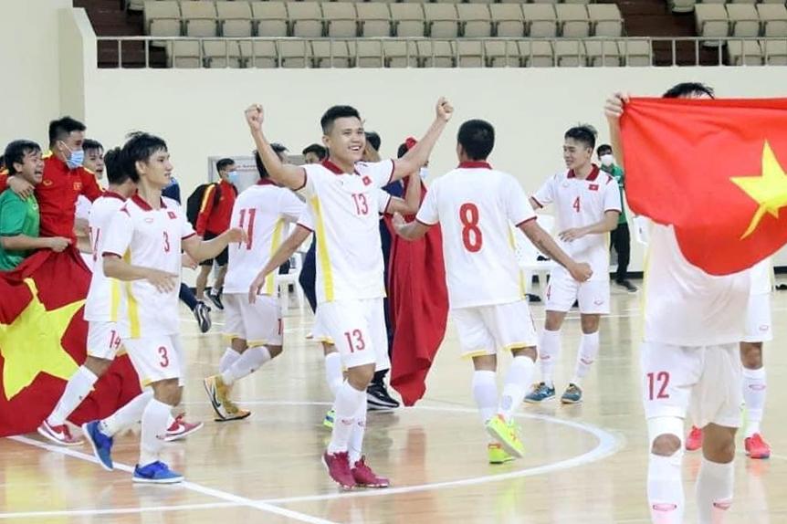 นักฟุตซอลชาวเวียดนามหวังว่าจะสามารถทำซ้ำความสำเร็จของพวกเขาในรอบ 16 ทีมสุดท้ายเหมือนในฟุตบอลโลกปี 2016