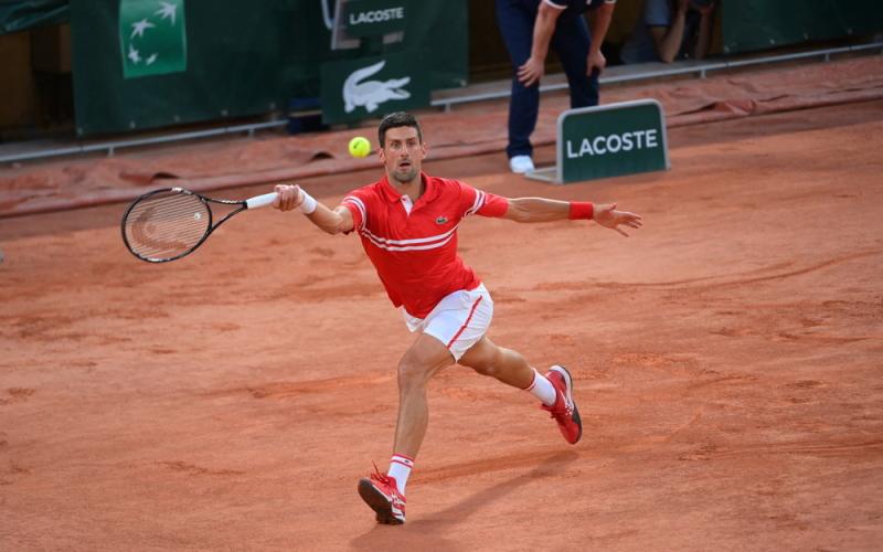 Djokovic mengincar kemenangan ke-956 dalam karirnya.  Foto: ATP