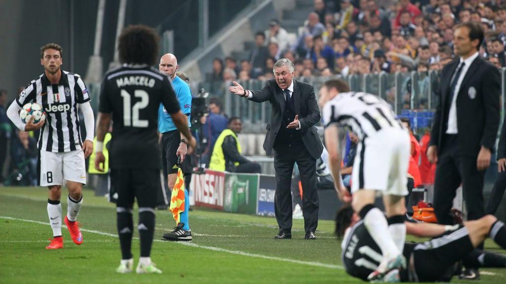 Thất bại ở Champions League khiến Ancelotti bị trảm ở nhiệm kỳ đầu. Ảnh: AP