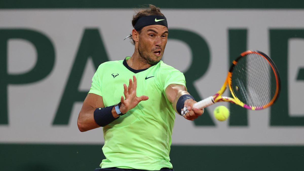 Nadal thắng tới 84% điểm bóng một cả trận. Ảnh: AP