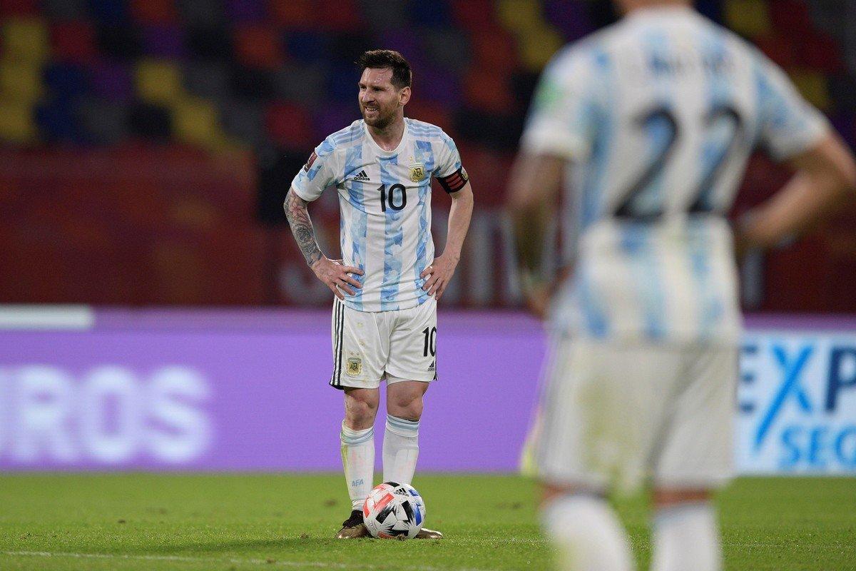 Messi có bốn cơ hội rõ rệt trước Chile, nhưng chỉ ghi được một bàn từ phạt đền. Ảnh: Pool