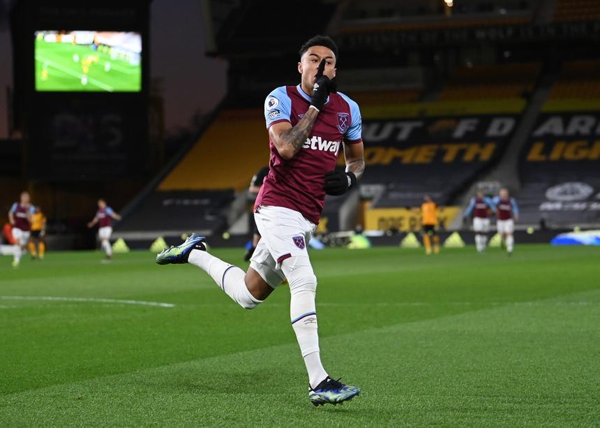 Lingard giúp West Ham giành vé dự Cup châu Âu mùa sau. Ảnh: Reuters.
