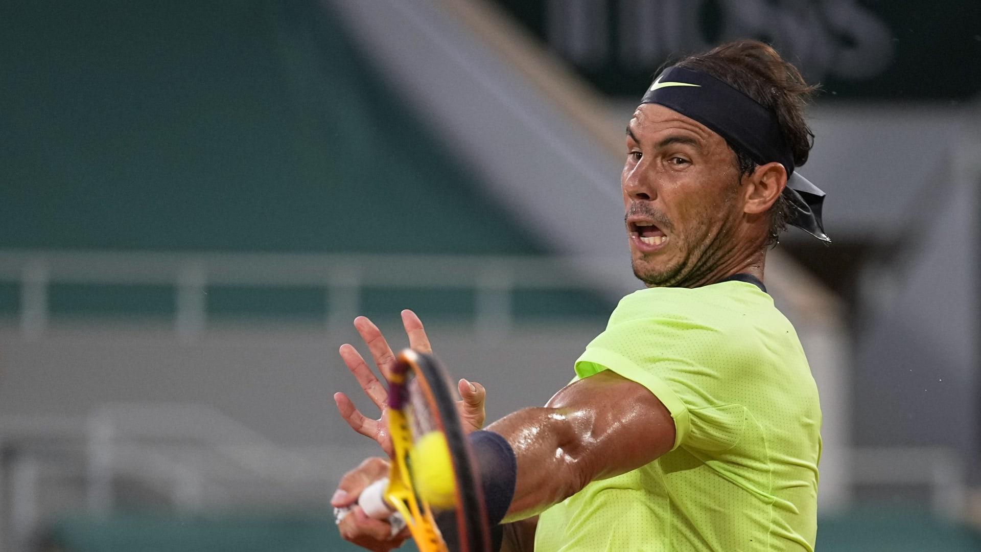 Nadal memenangkan Norrie di kedua pertemuan pada tahun 2021. Foto: AP