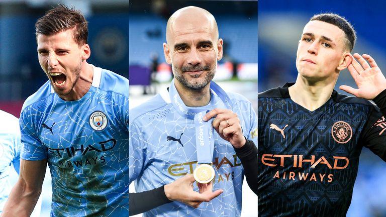 Anggota Man City memenangkan penghargaan individu paling penting musim PFA.