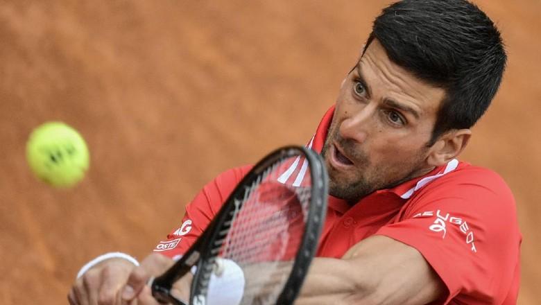 Nếu hạ Musetti, Djokovic gặp một tay vợt Italy khác ở tứ kết là Matteo Berrettini. Ảnh: ATP