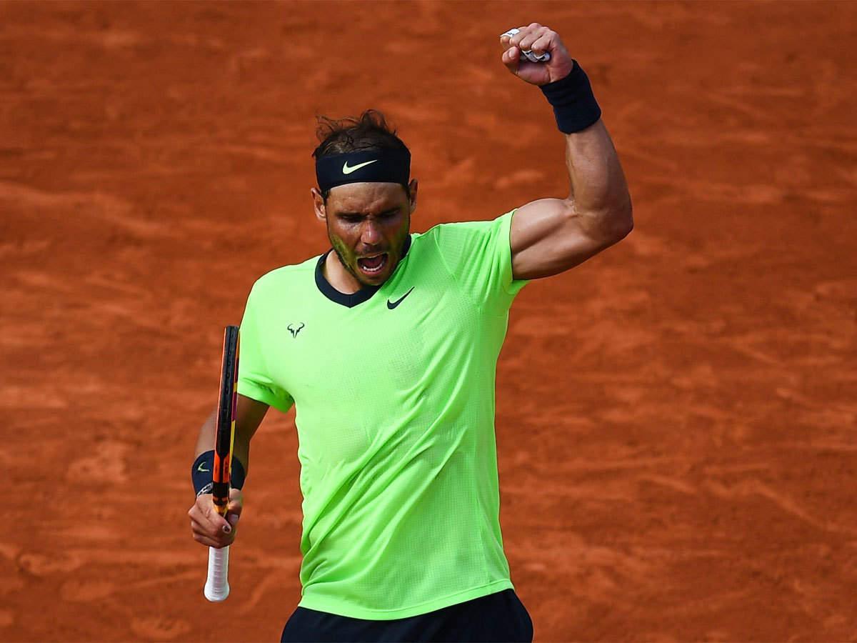 Nadal hanya butuh dua jam 20 menit untuk mengalahkan Sinner.  Foto: ATP
