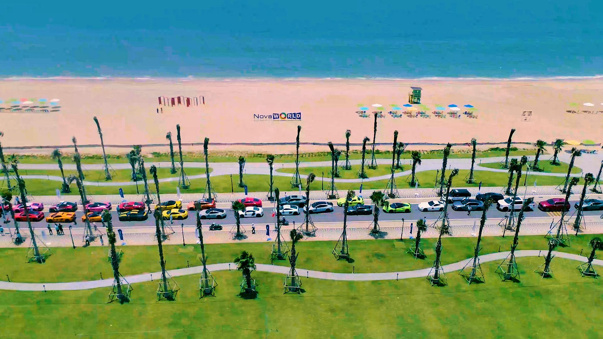 Công viên biển Bikini Beach 16 ha tại NovaWorld Phan Thiet là một trong những tiện ích mà Lý Hoàng Nam rất háo hức được trải nghiệm.