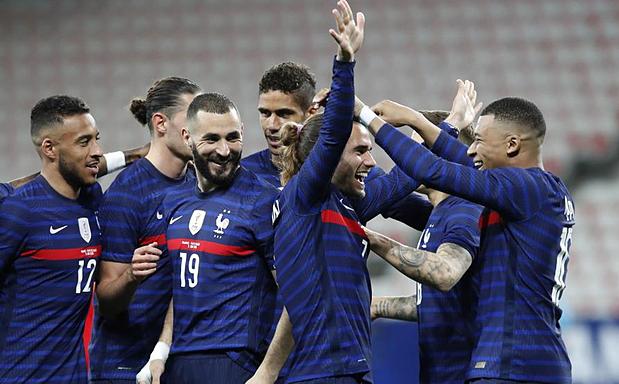 ฝรั่งเศสได้รับการชื่นชมอย่างสูงสำหรับความสามารถในการคว้าแชมป์ยูฟ่ายูโร 2020 ในฤดูกาลนี้