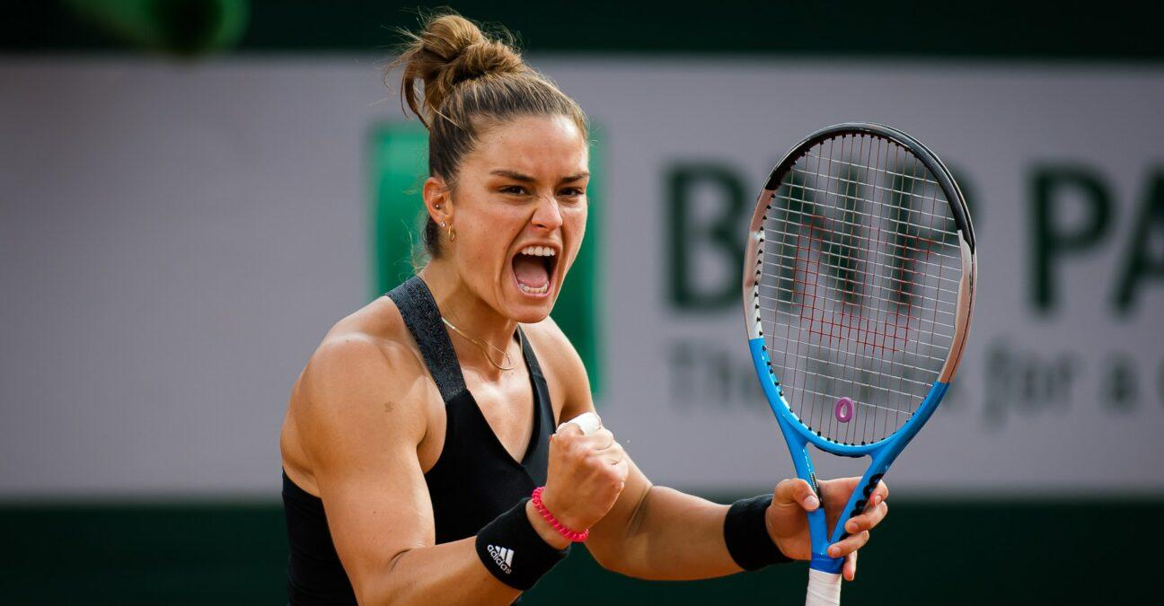 Sakkari lần đầu vào bán kết Roland Garros. Ảnh: AP