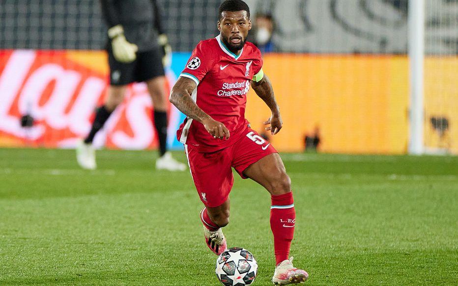 Wijnaldum giành bốn danh hiệu trong năm năm khoác áo Liverpool. Ảnh: Icon Sport.