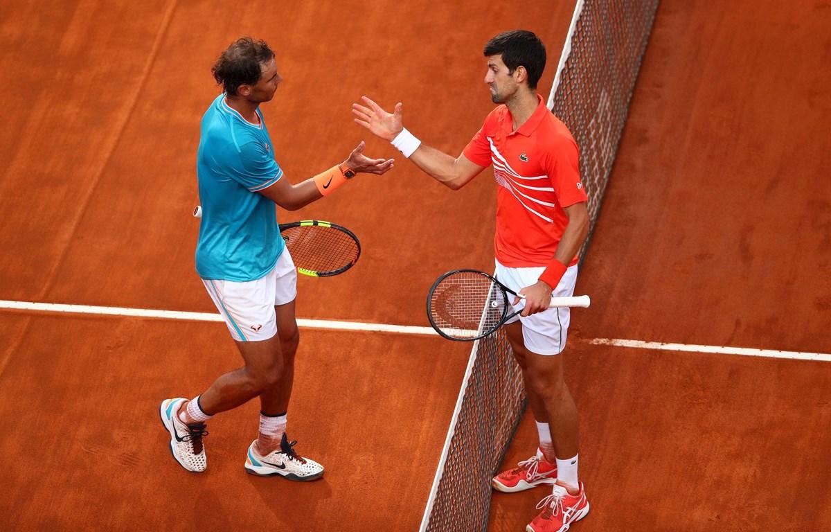 Nadal mới thua một set ở Roland Garros năm nay và chơi ít hơn Djokovic 48 phút. Ảnh: ATP