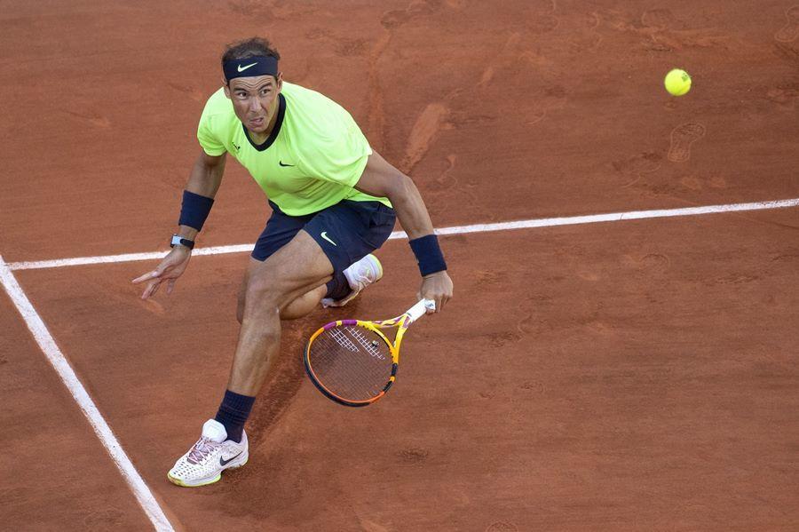 Nadal lần thứ 14 vào bán kết Roland Garros và bất bại 13 lần trước đó. Ảnh: ATP