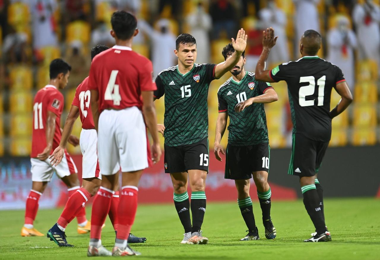 ยูเออีชนะทั้งสามนัดในช่วงเก้าวันที่ผ่านมา  ภาพ: UAEFA