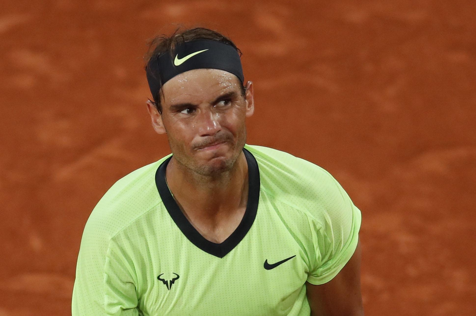 Nadal kehilangan sirkuitnya selama empat tahun berturut-turut saat memenangkan Roland Garros.  Foto: AP