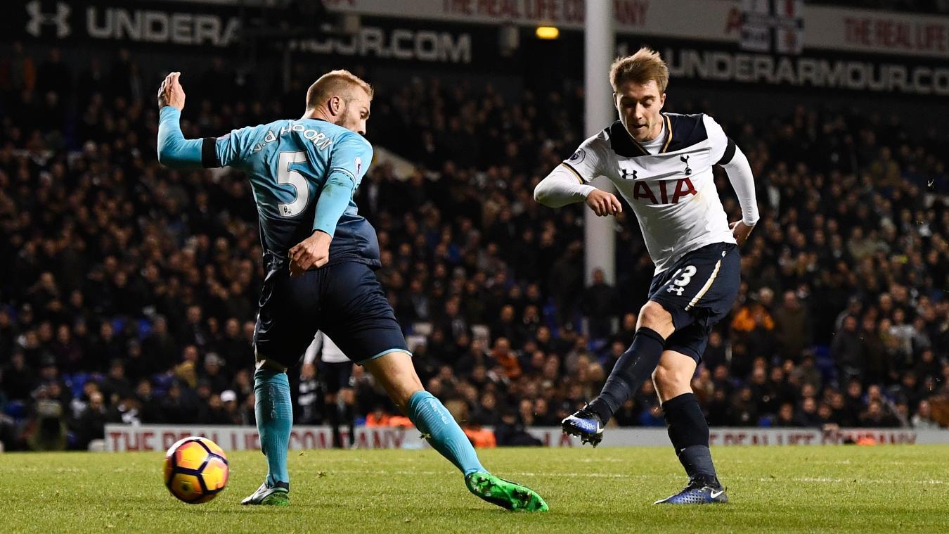 Eriksen memainkan 305 pertandingan, mencetak 69 gol dalam hampir tujuh musim yang didedikasikan untuk Tottenham.  Foto: Reuters