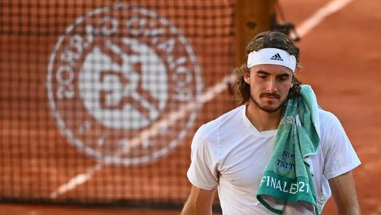 Tsitsipas là người Hy Lạp đầu tiên góp mặt ở chung kết đơn Grand Slam. Ảnh: ATP